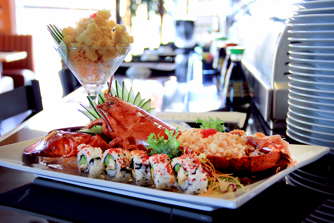 "Naples Daily News writers declare Komoon Thai Sushi & Ceviche Restaurant a ""favorite spot for sushi rolls in town…"" and ""the strongest overall presentation."""