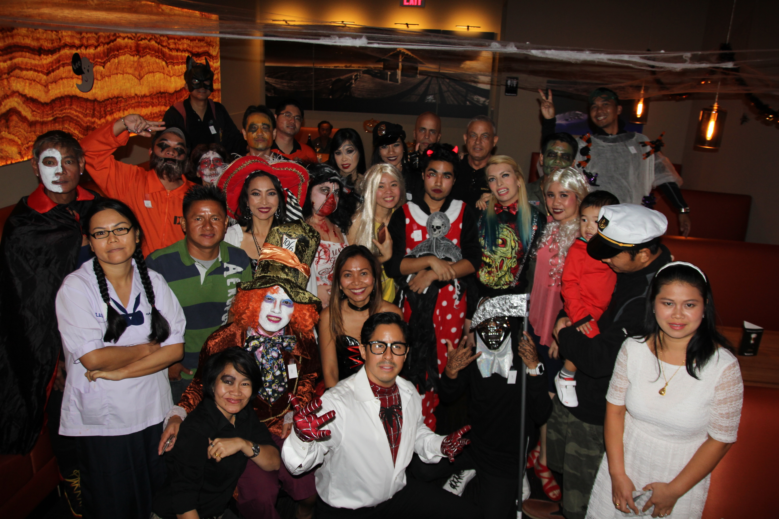 5th Anniversary and Halloween Party Pics