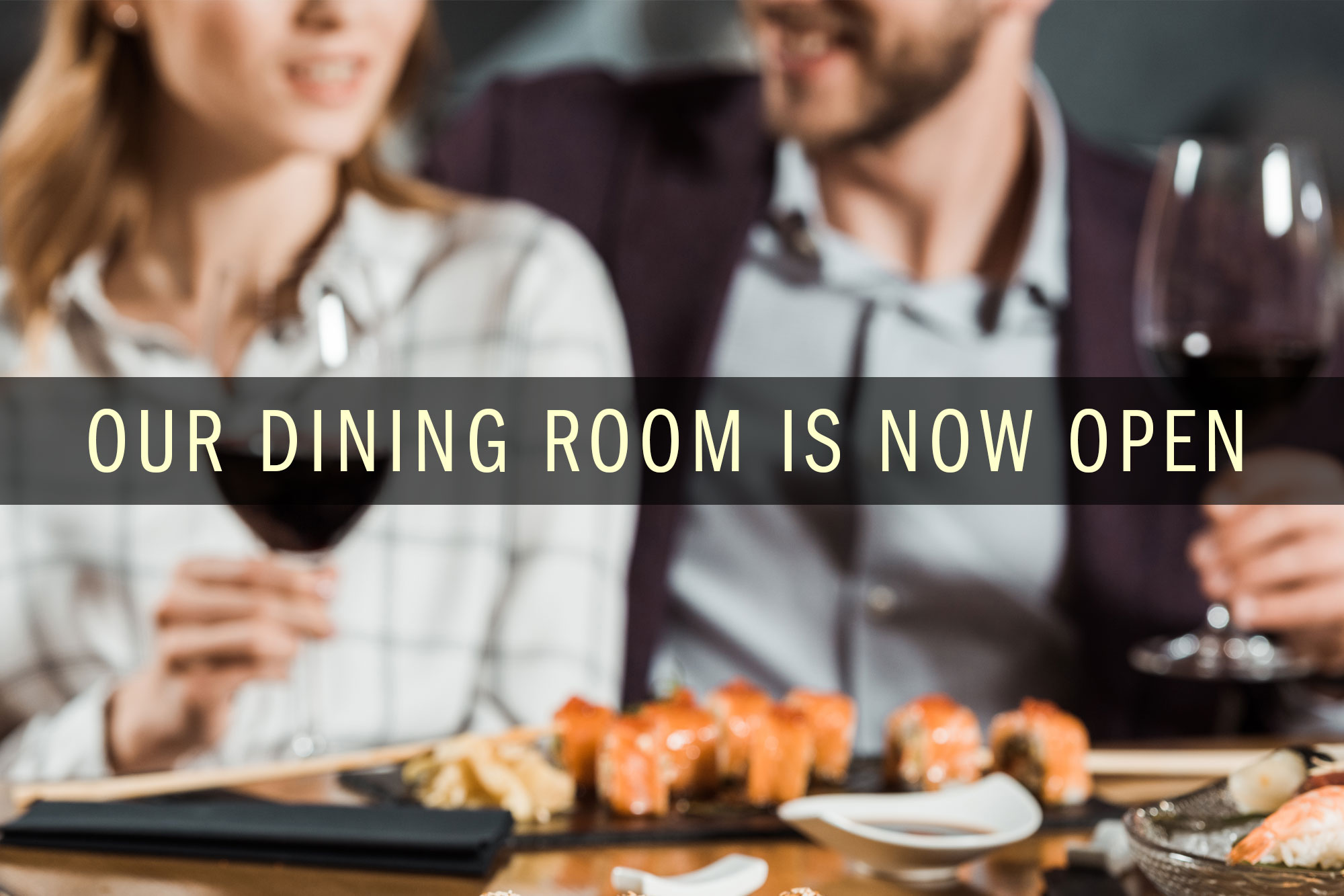 Komoon Dining Areas Now Open